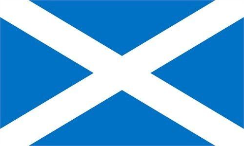 Scotish Blue Flag