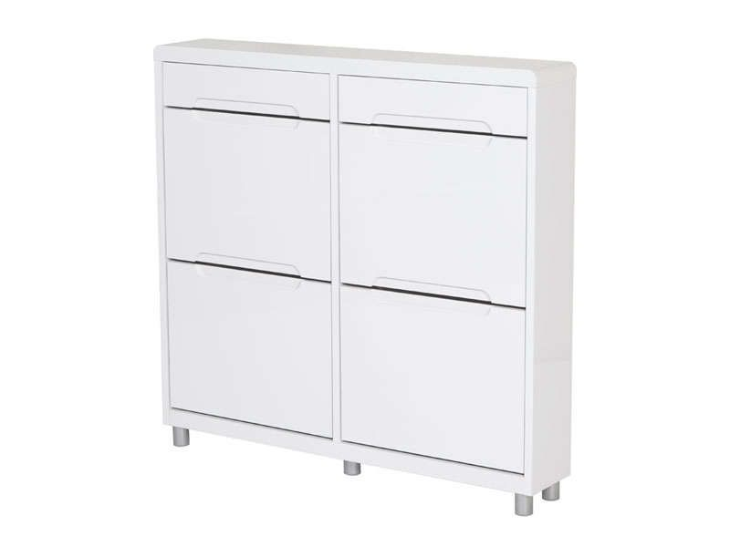 Meuble A Chaussures 4 Abattants 2 Tiroirs 533376 Locker Storage Storage Filing Cabinet