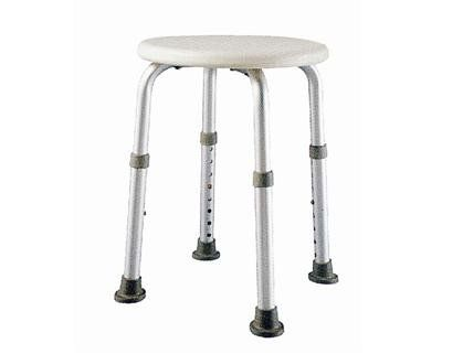 COMWIS Round Bathtub Stool With Adjustable Legs   This Round Shower/tub  Stool Is Ideal