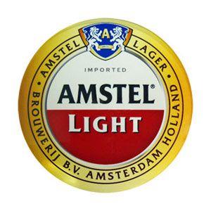 Draft Beer Tower Medallion Marker For Amstel Light Medallion