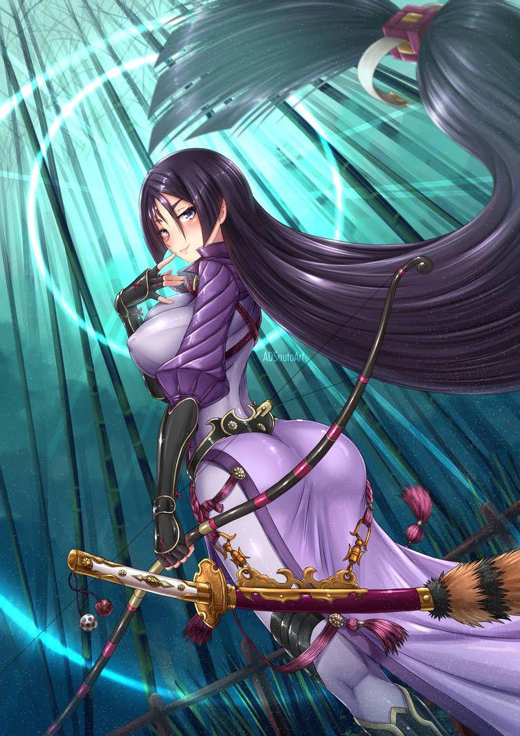 Minamoto no raikou fatego servant berserker by adsouto