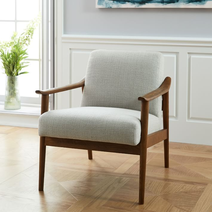 Mid-Century Show Wood Chair | Dream Home | West elm mid ...