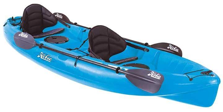 Hobie Kona Tandem Kayak 2017 Caribbean Blue | Click to Learn