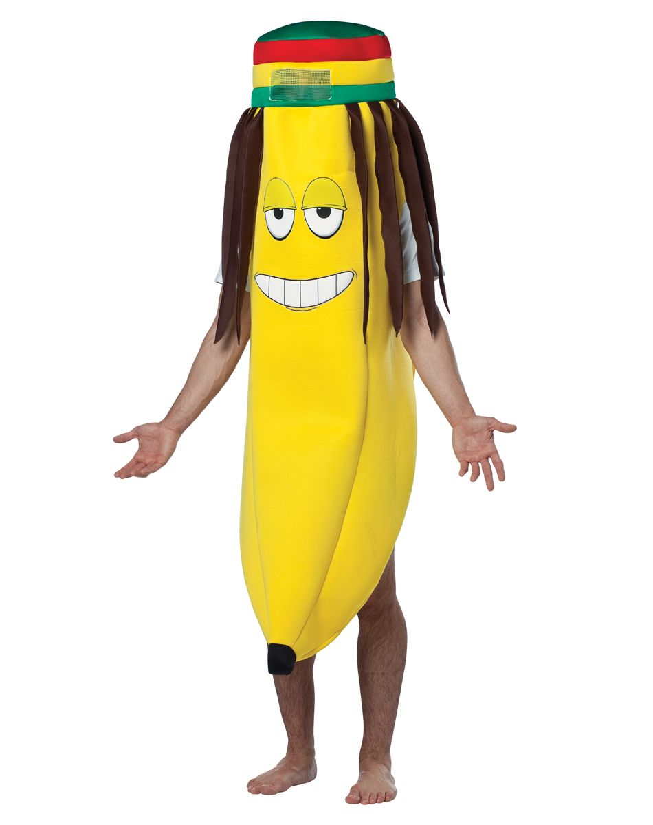 Dreadlock Banana Adult Men's Costume at Spirit Halloween ...
