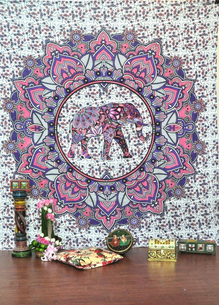 hippie tapestries wall hanging medallion bohemian tapestry