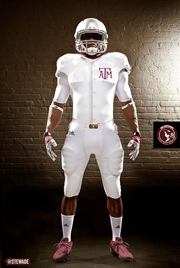 The Tailgate A Graphical Preview Of Alabama At Texas A M Football Uniforms College Football Uniforms Texas Sports