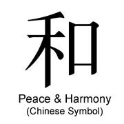 chinese symbol for peace chinese symbol for peace