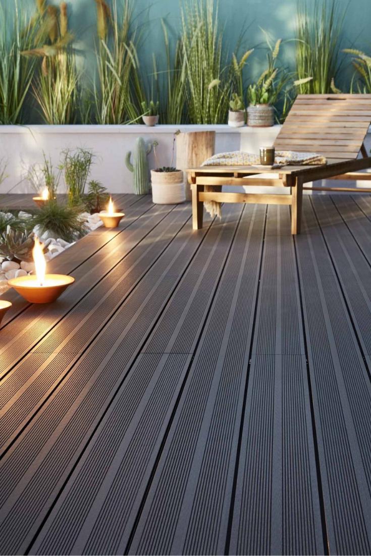 Quel Materiau Choisir Pour Obtenir Des Allees De Jardin Tendance Et Deco Terrasse Jardin Bois Lame De Terrasse Composite Terrasse Composite