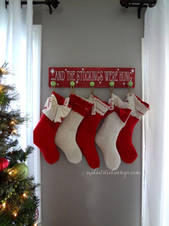 And The Stockings Were Hung Stocking Hanger By
