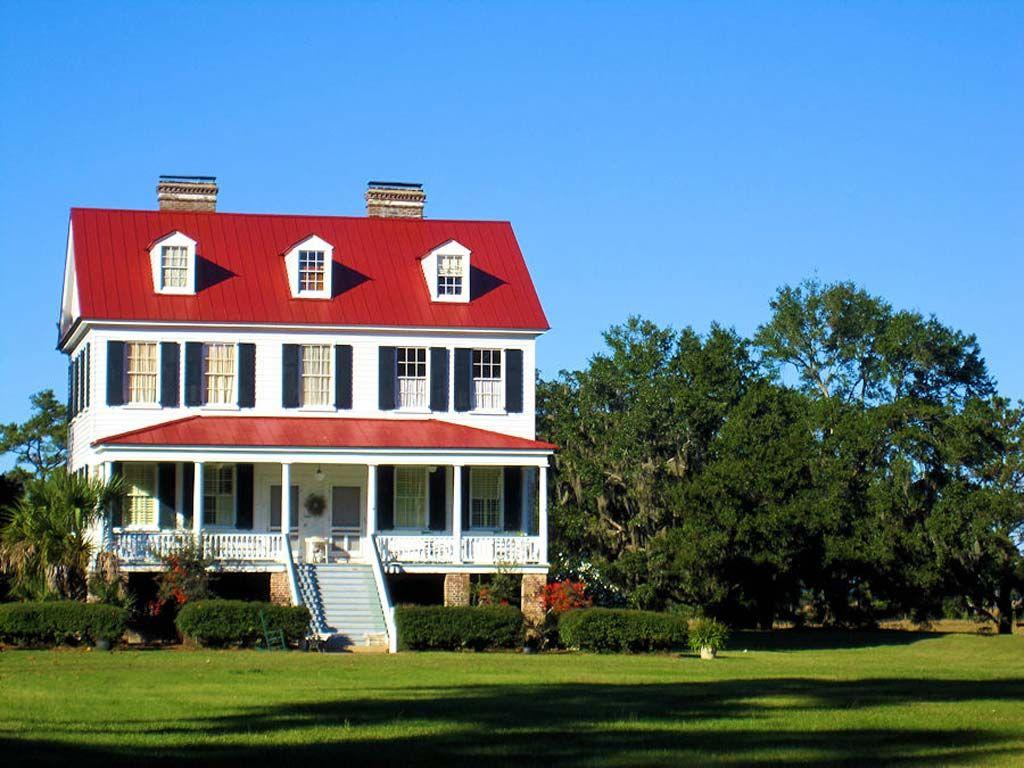 Cassina point plantation charleston county south for Southern plantation house