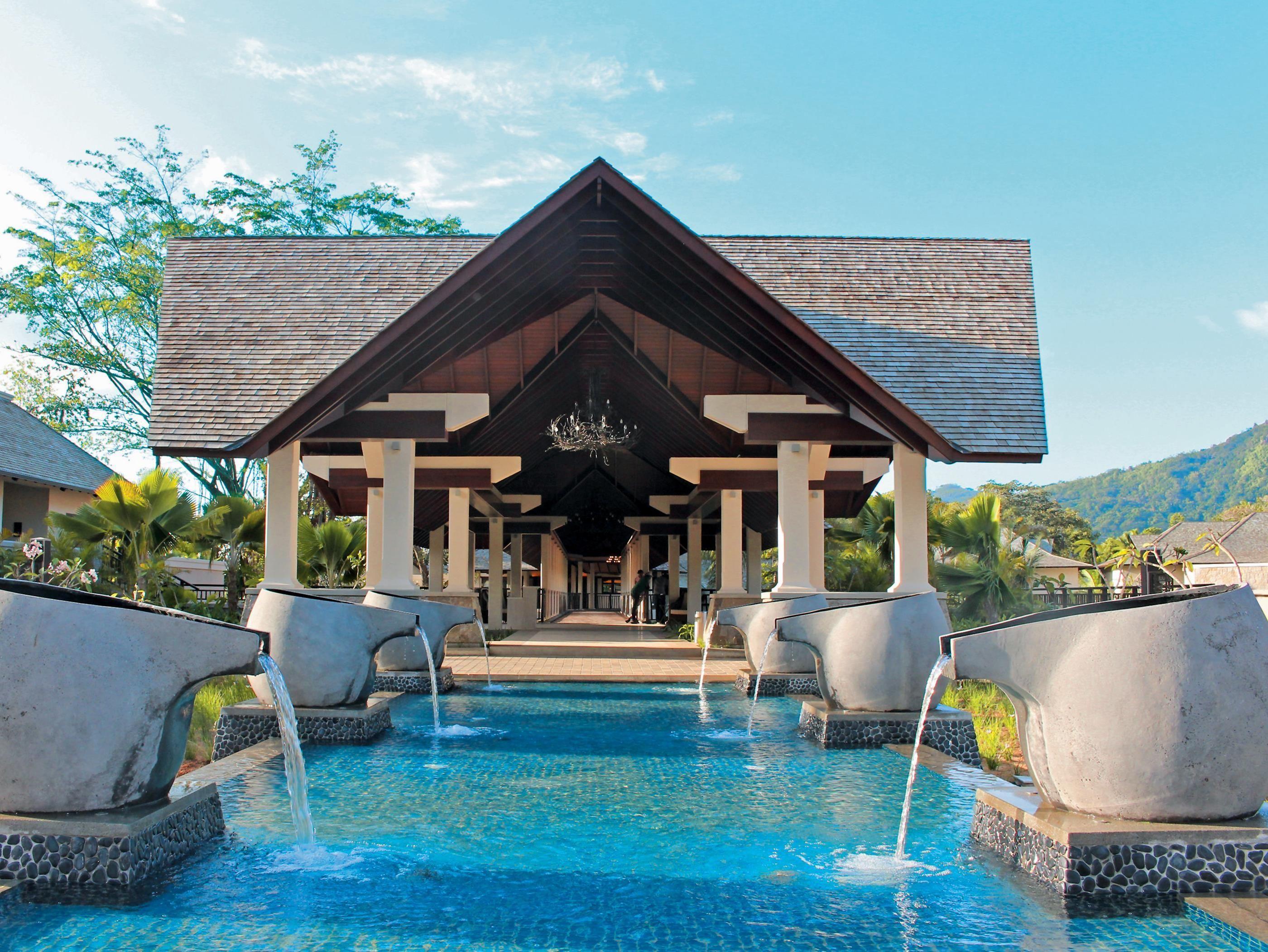 Seychelles Islands The H Resort Beau Vallon Beach Africa