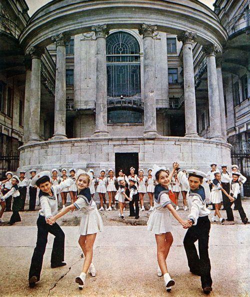 verdwijn: Palace of Pioneers in Sevastopol, 1960's.