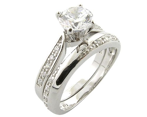 Diamond Engagement Rings Sets 36