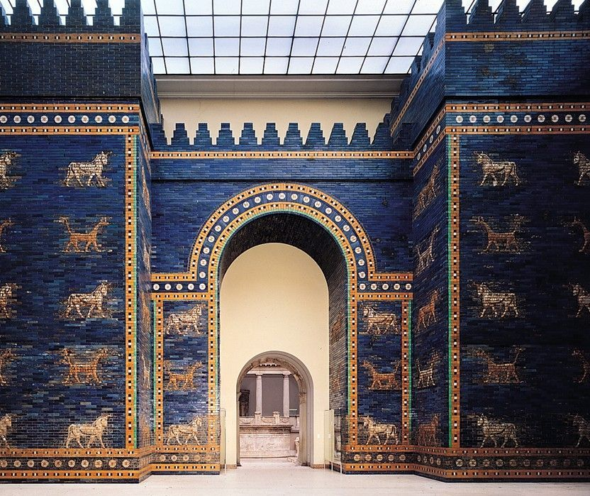 Reconstruction Of The Ishtar Gate In The Pergamon Museum Berlin Pergamon Museum Pergamon Museum Berlin Pergamon