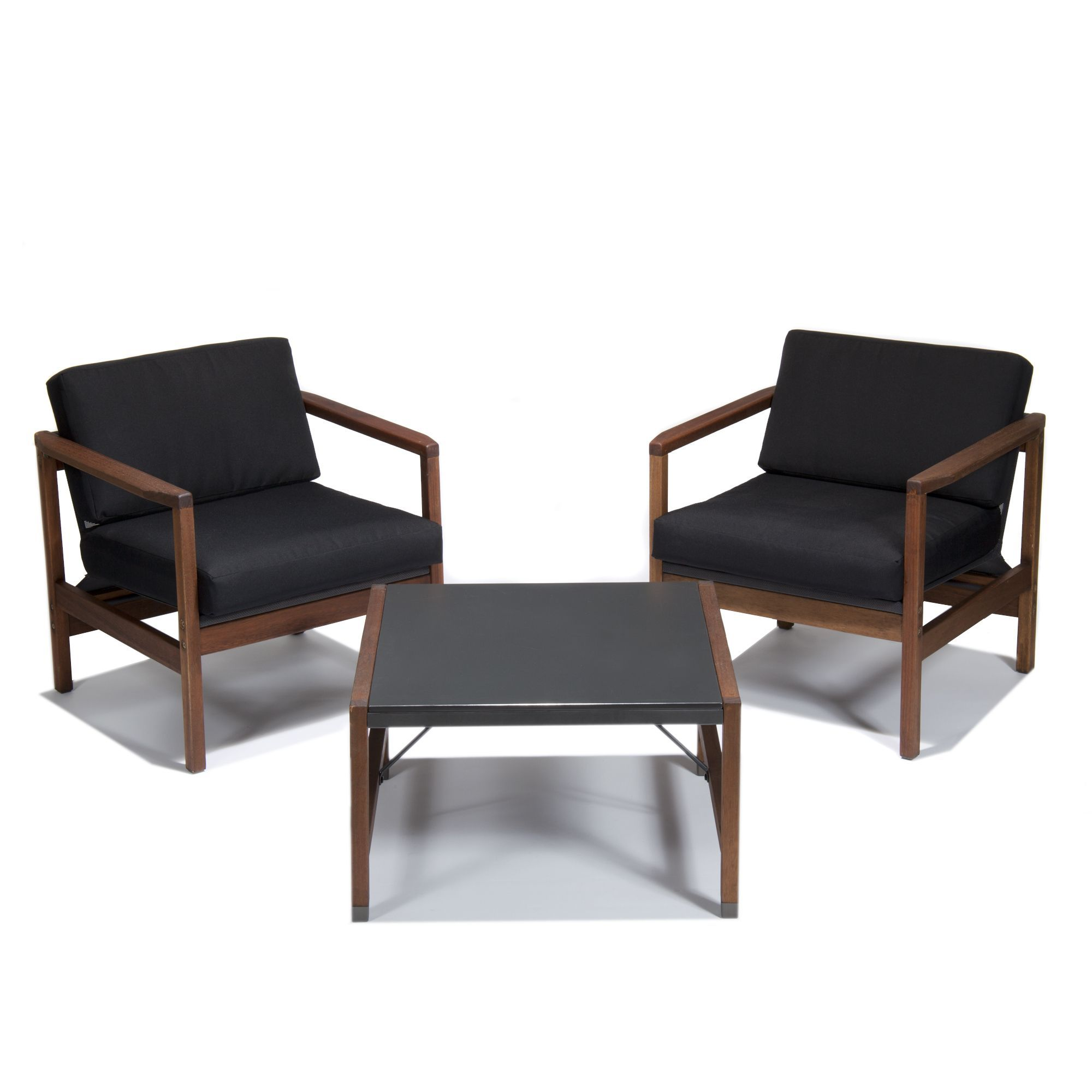 Salon de jardin rétro - Marvin - Les canapés et fauteuils de jardin - Meubles de jardin - Tous les meubles - Décoration d'intérieur - Alinéa