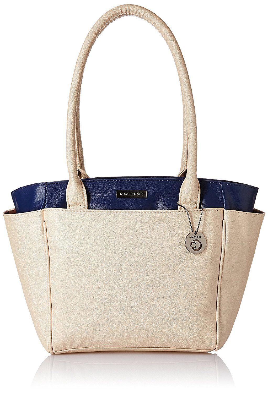 Caprese Women Tote Bag (Blue Pearl)  92e2a1acde679