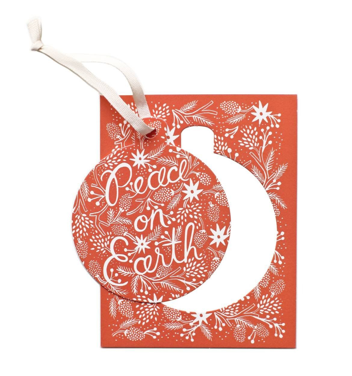 berry peace on earth ornament card box set box sets peace and