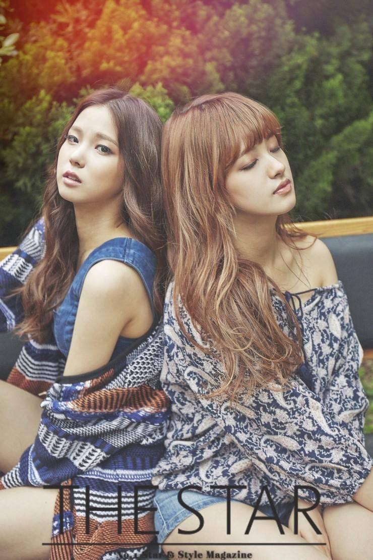 Yujin and Seunghee