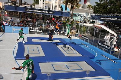 I Remember When They Use To Have This On Tv Trampoline Basketball Basketball Basketball Court