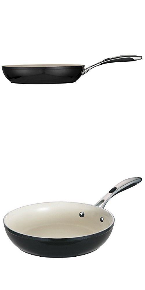 Tramontina 80110 020ds Gourmet Ceramica 01 Deluxe Fry Pan 12 Inch Metallic Black Wok Saute Pan Stir Fry