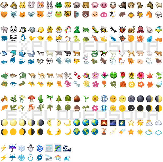 Ever Wonder What Ios Emoji Looks Like On Android Or Google Hangout Or What Your Android Googl Emoji Wallpaper Iphone Cute Emoji Combinations Instagram Emoji