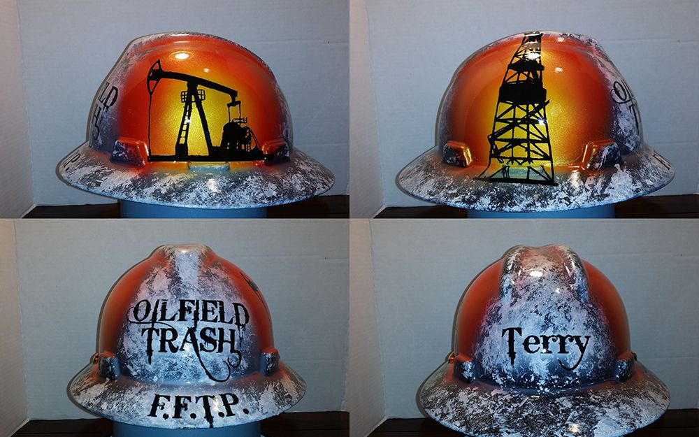 f7ee8c1ba Oilfield trash #hardhat the design that started it all for ...