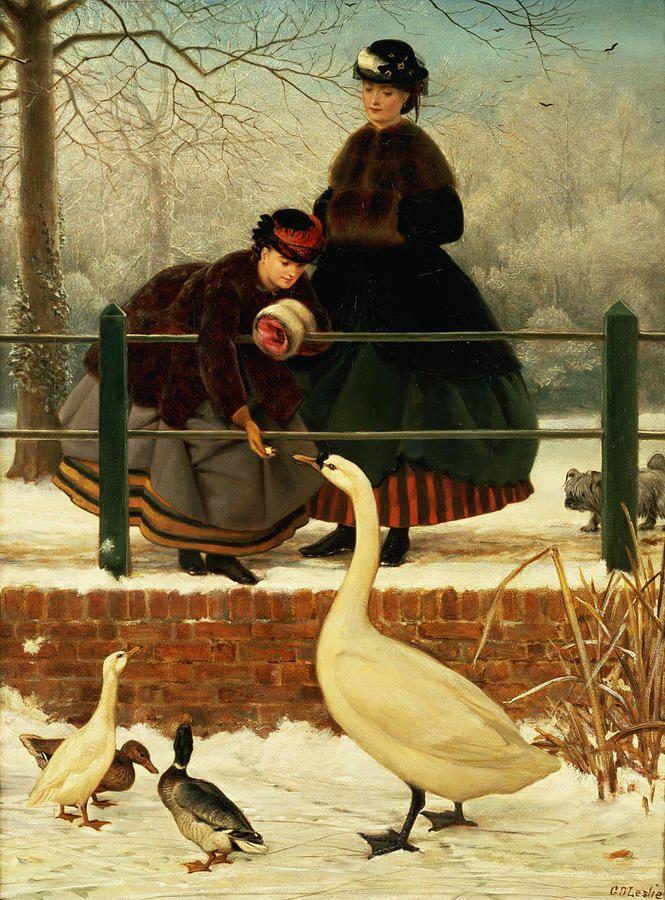 Frozen Out, Leslie, George Dunlop (1835-1921)