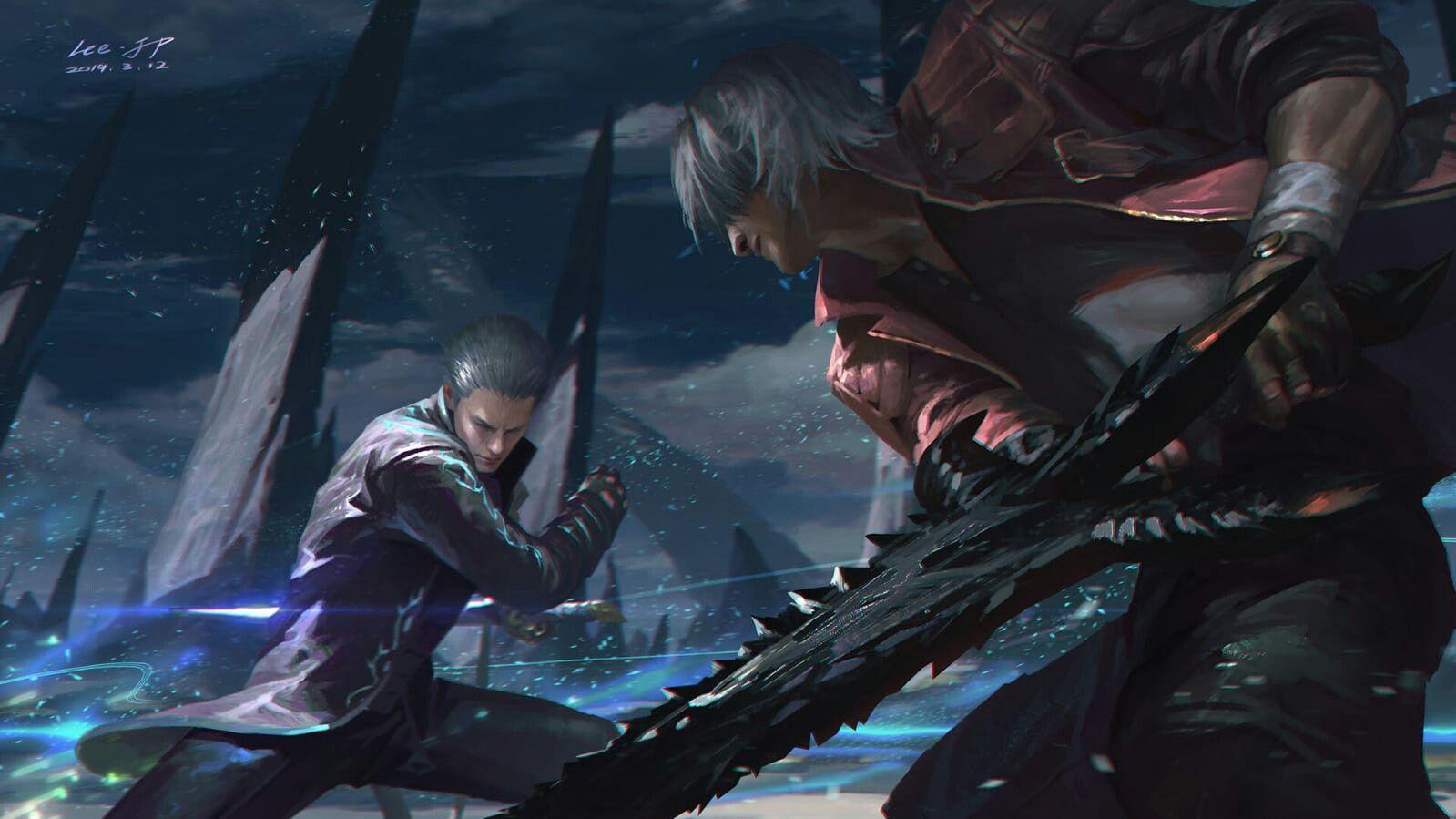 Pin On Dragon Ball Dante devil may cry 5 wallpaper hd