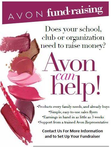 AVON Fundraising wwwyouravon sam39 or send me an email - fundraising flyer