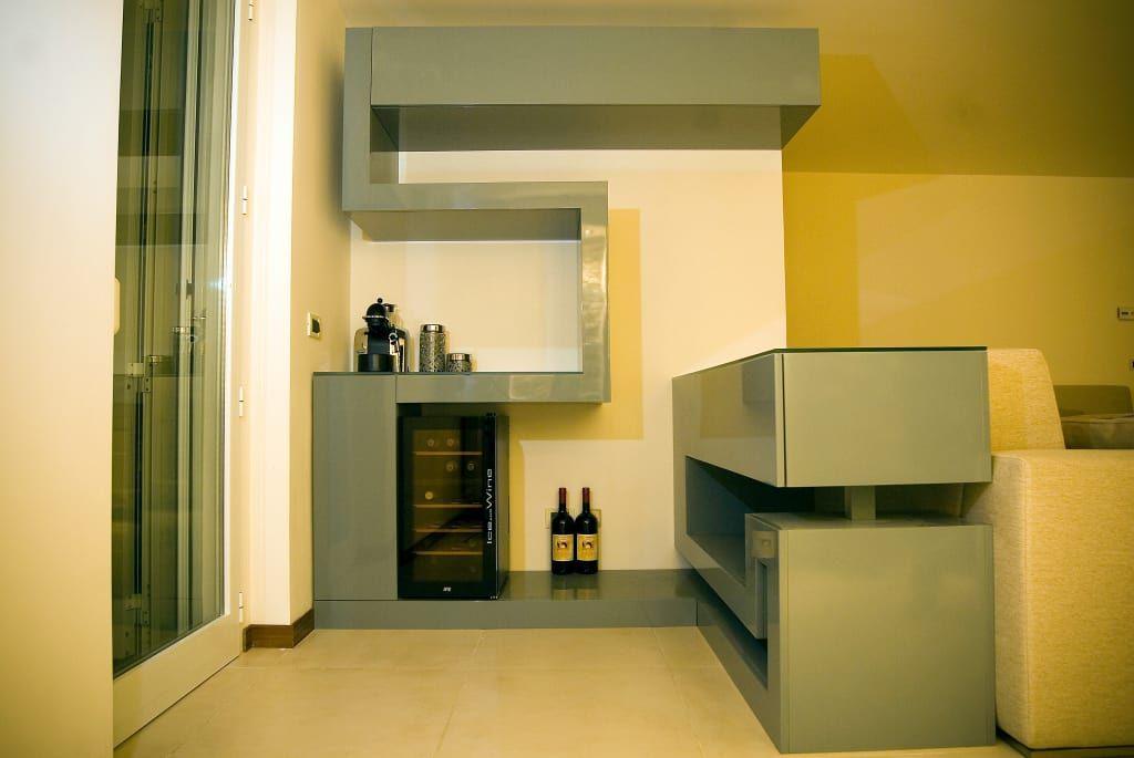 Photo of Zig zag soggiorno moderno di luca bucciantini architettura d' interni moderno   homify