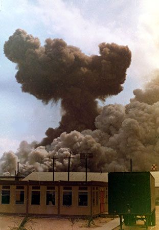 Explosion from ASP#1 @ West Side DaNang, April 27, 1969 ...