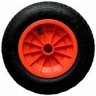 14 Orange Pneumatic Wheelbarrow Trolley Wheel 3 50 8 Tyre Innertube 35mm Bore Brouette Pneu Et Pneumatique