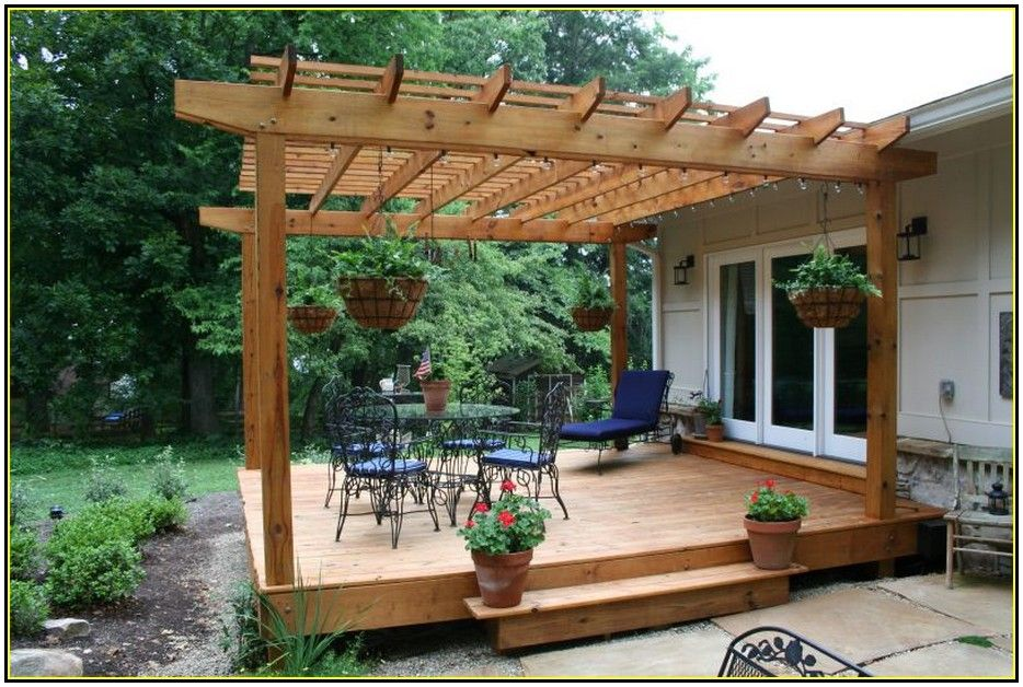 Interesting Outdoor Deck Shades Design Ideas With Wooden Pergola And Beams  Ceiling Combine With Round Glass - Interesting Outdoor Deck Shades Design Ideas With Wooden Pergola
