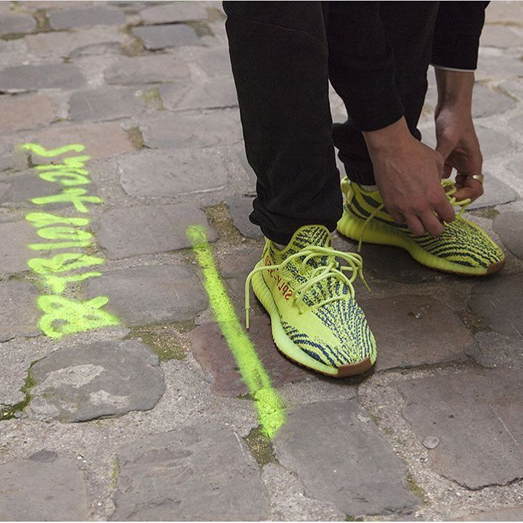 f39f8b45f63 The  adidasoriginals Yeezy Boost 350 V2 Frozen Yellow will be released  tomorrow on November 18th! Will you try your luck  by  hypebeastfr   sneakersmag ...