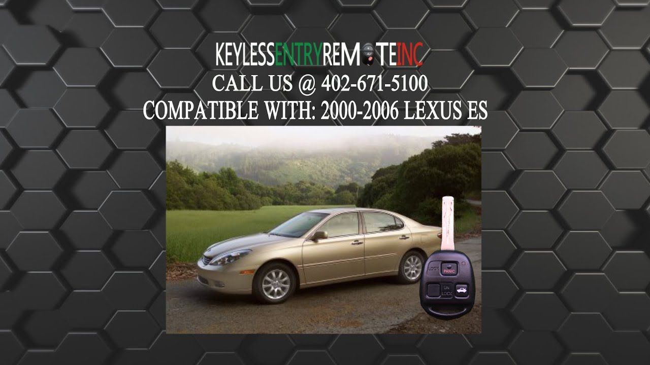 Lexus is250 key fob battery replacement | How To Change Battery in