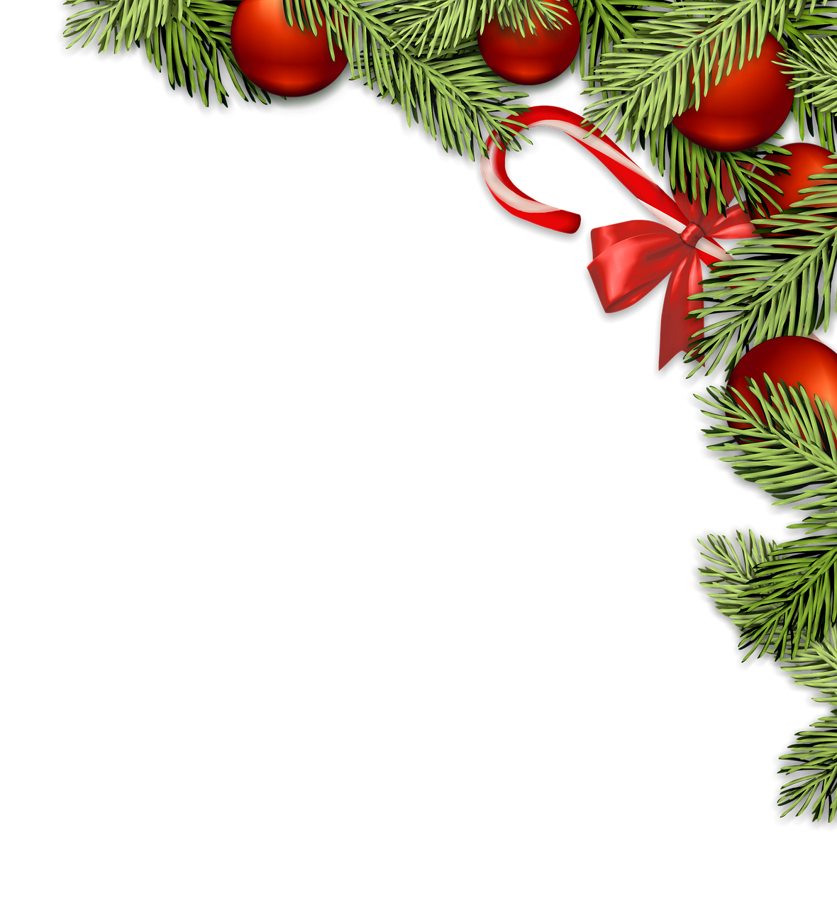 Christmas Decorations Transparent Image