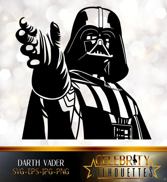 Darth Vader Silhouette Artist Silhouettes Celebrity Etsy Silhouette Artist Darth Vader Silhouette Darth Vader