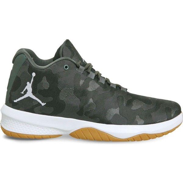 e046d1bce83e2c Nike Jordan B. Fly mesh trainers ( 105) ❤ liked on Polyvore featuring men s
