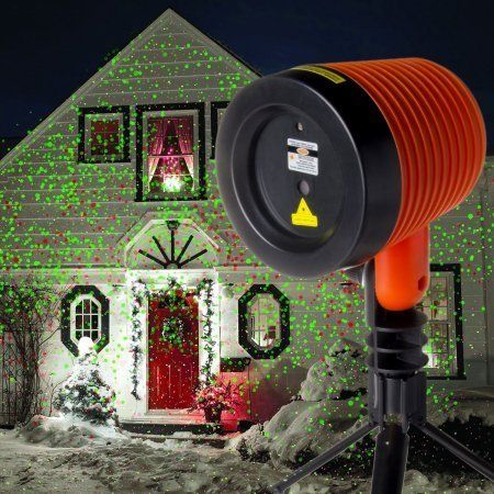 Outdoor Décor-Laser Christmas Lights Outdoor With Wireless Remote