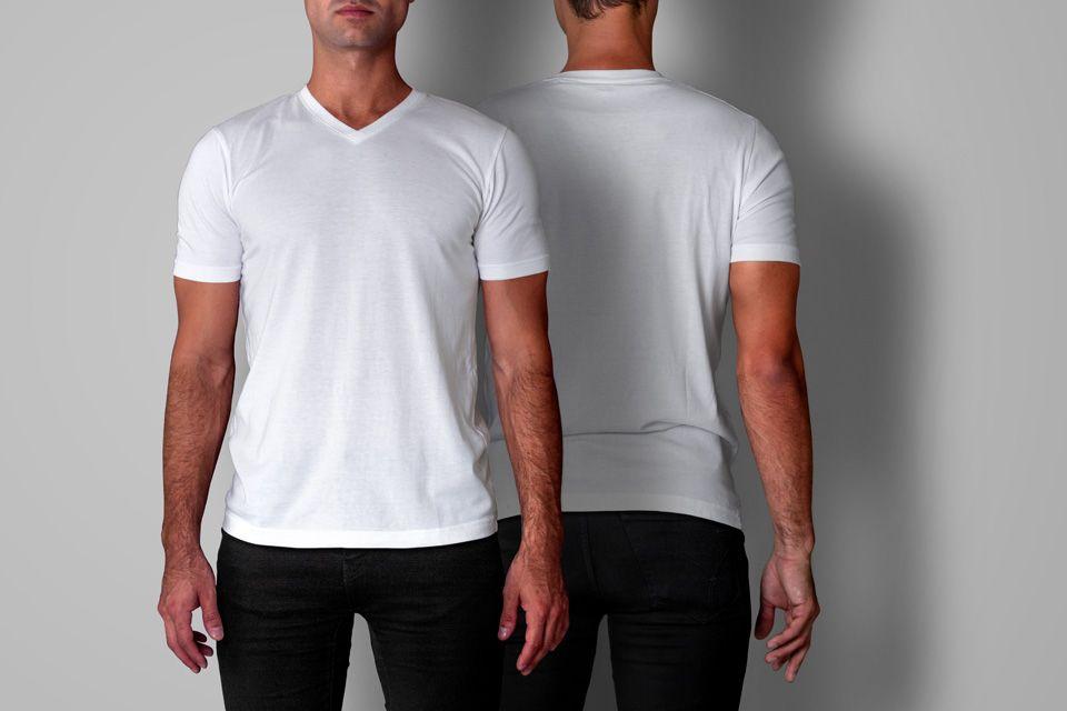 Download Https Www Pixeden Com Psd Mock Up Templates Psd Men T Shirt Mockup V Neck Shirt Mockup Mens Tshirts Tshirt Mockup