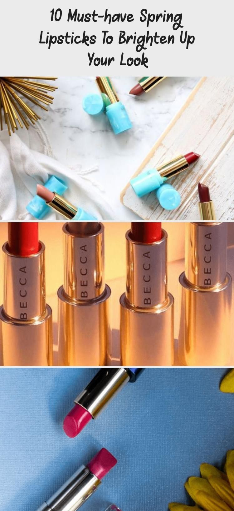 10 Must-have Spring Lipsticks To Brighten Up Your Look -