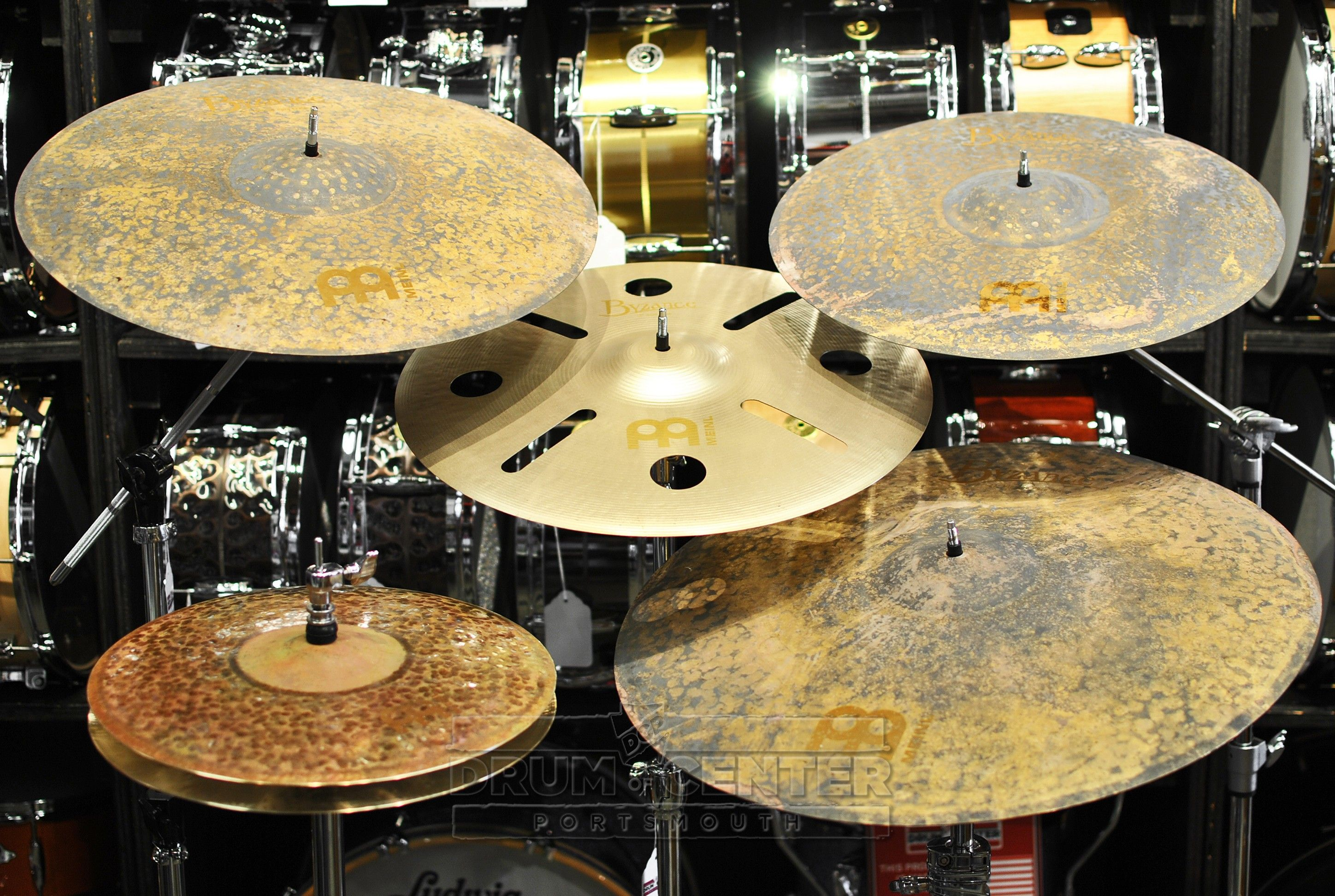 meinl byzance vintage pure cymbal set with free 18 crash dcp exclusive cymbals drums. Black Bedroom Furniture Sets. Home Design Ideas