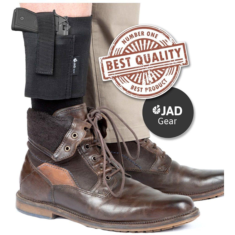 JADGear Ankle Holster for Concealed Carry | Gun Holster for