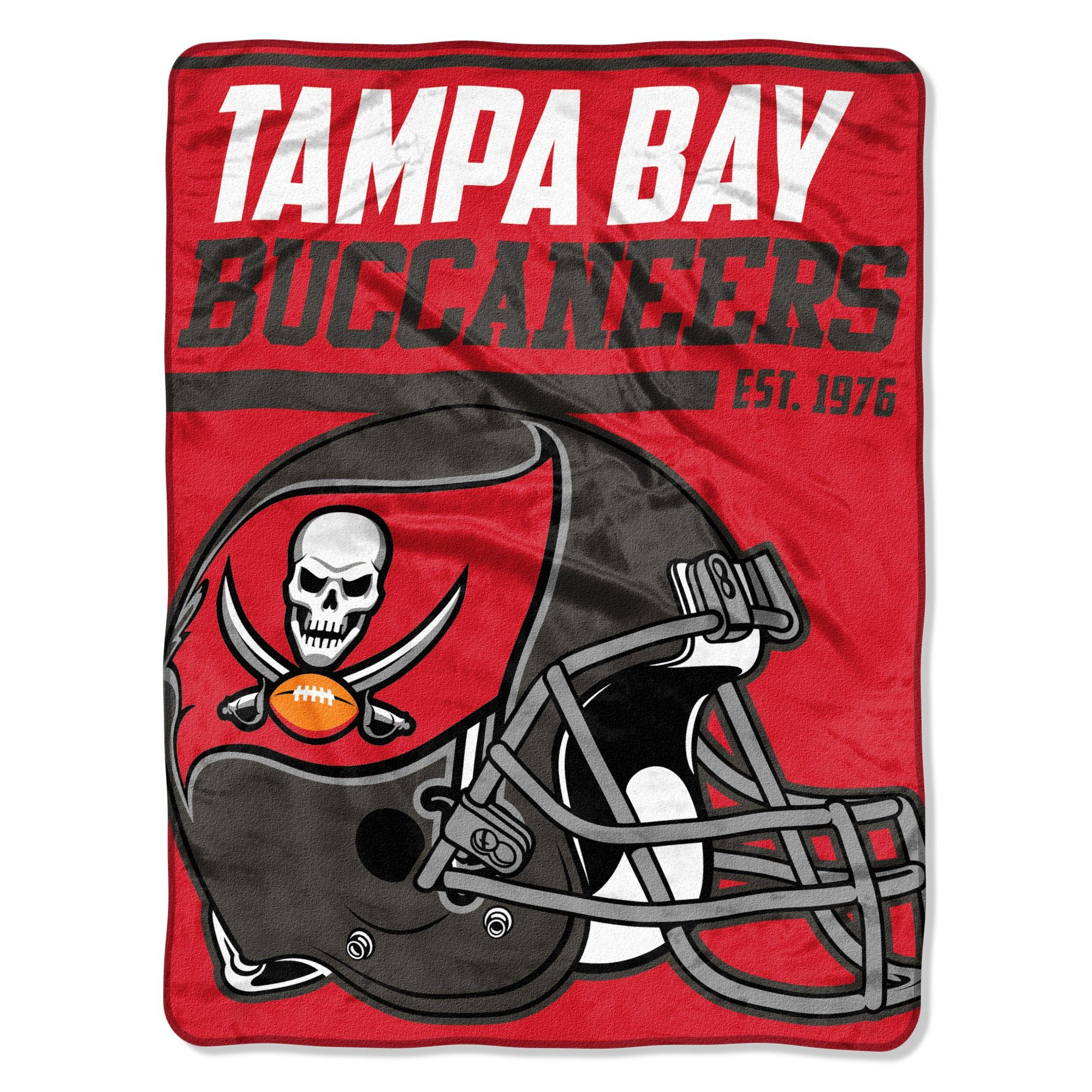 dadca56e86a NFL Tampa Bay Buccaneers Micro Fleece Throw Blanket