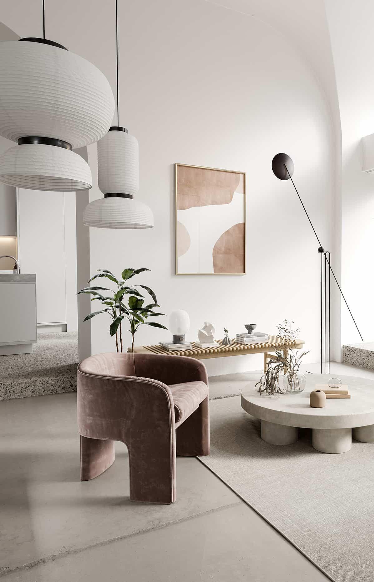 Un appartement design et lumineux
