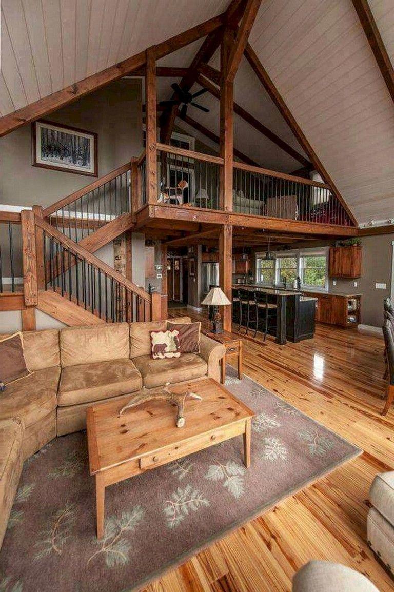 68 Beautiful And Quaint Cottage Interior Design Decorating Ideas Rustic Home Design Rustic Cottage Interiors Cabin Interior Design