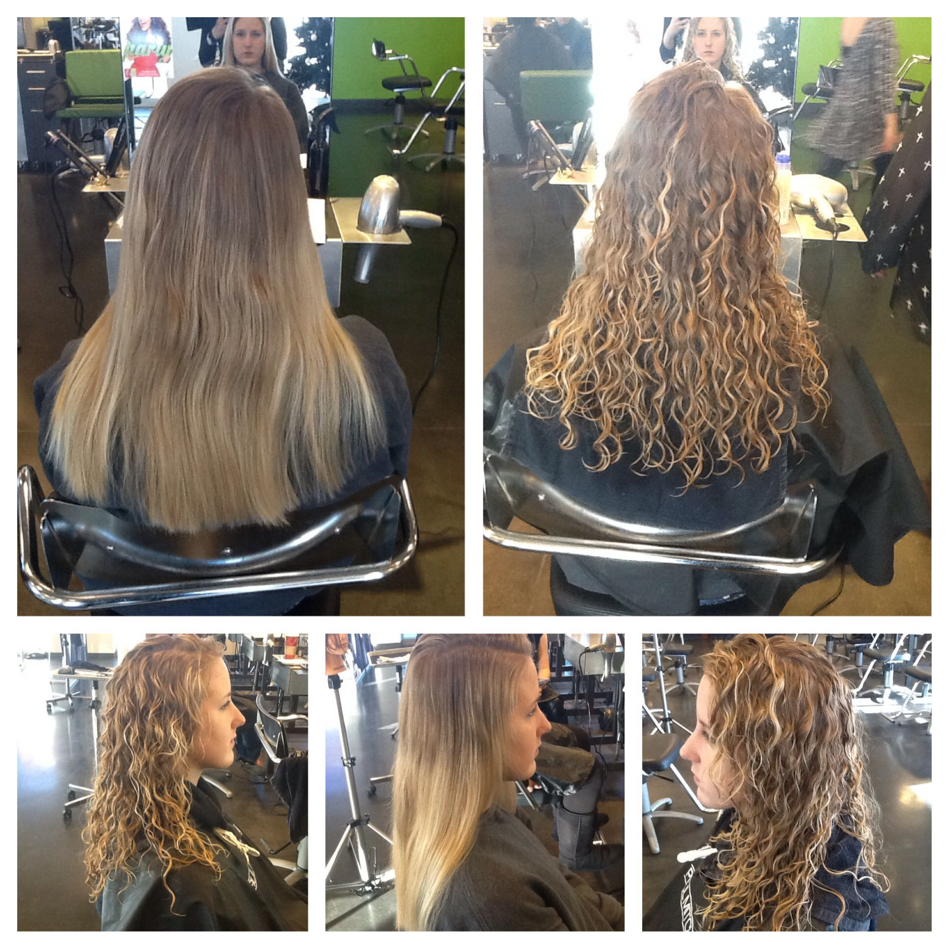 Straight perm for curly hair - Wavy Spiral Perm Too Bad My Hair Can T Naturally Look Like