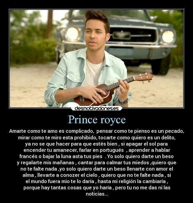Darte un Beso-Prince Royce#<3