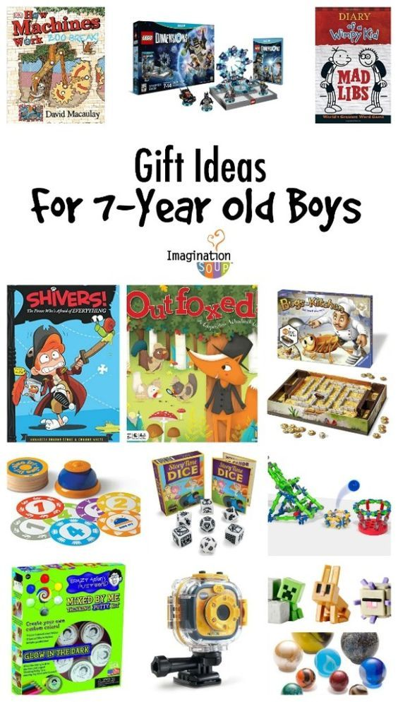 these are great learning & play gift ideas for 7 year old boys - Gifts For 7-Year Old Boys Kaiden Old Boys, Gifts, Gifts For Boys