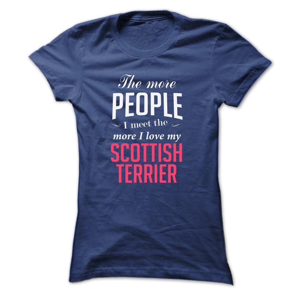 i love my SCOTTISH TERRIER T-Shirts, Hoodies. VIEW DETAIL ==► https://www.sunfrog.com/Pets/i-love-my-SCOTTISH-TERRIER-Ladies.html?id=41382